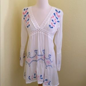 Size s beach cover up